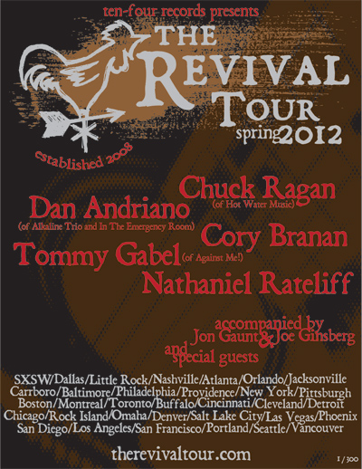 Revival Tour - Spring 2012