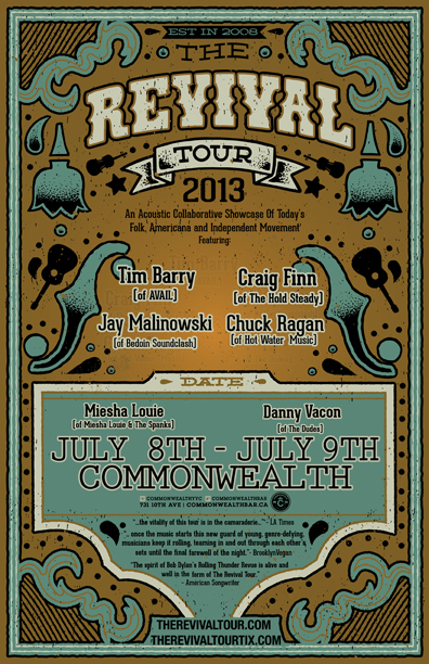 The Revival Tour @ Commonwealth Bar & Stage for Stampede 2013
